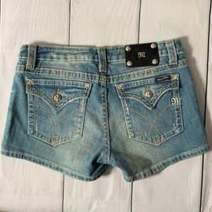 Miss Me JPW4896SH Denim Shorts